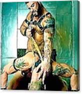 Say Ho Canvas Print