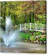 Sayen Garden Impression Canvas Print