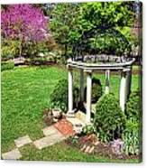 Sayen Garden Spring Canvas Print