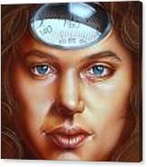 Scale Head Canvas Print