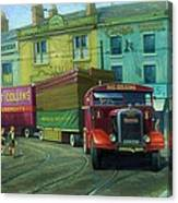 Scammell Showtrac Canvas Print