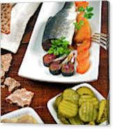 Scandinavian Breakfast, Scandinavia Canvas Print