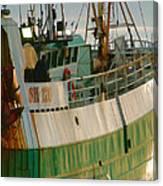Scarborough Sailing Canvas Print
