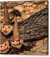 Scarecrow Cupcakes Canvas Print