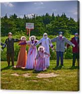 Scarecrow Wedding Canvas Print