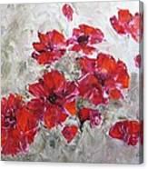 Scarlet Poppies Canvas Print