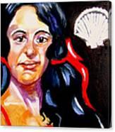 Scarlet Ribbons Canvas Print