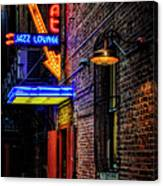 Scat Lounge Living Color Canvas Print
