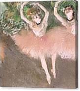 Scene De Ballet Canvas Print