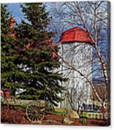 Scene In Vermont Canvas Print