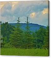 Scenery In Northern Pa Canvas Print