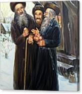 Scenes Of Jewish Life 4 Canvas Print