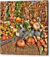 Scenes Of The Season Canvas Print