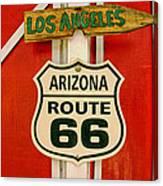 Scenes On Route 66 Canvas Print
