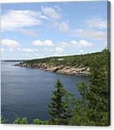 Scenic Acadia Park View Canvas Print