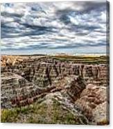 Scenic Badlands Canvas Print