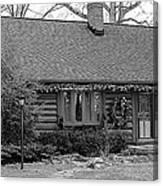 Scenic Cabin Canvas Print