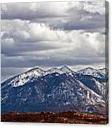 Scenic Moutains Canvas Print