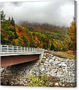 Scenic New Hampshire Drive Canvas Print