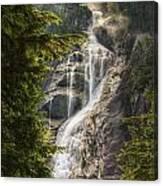 Scenic Of Shannon Fallsbritish Columbia Canvas Print