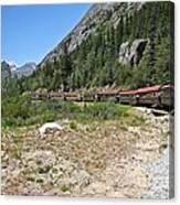Scenic Railroad Canvas Print