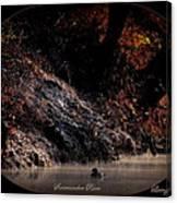 Scenic Sucarnoochee River - Wood Duck Canvas Print