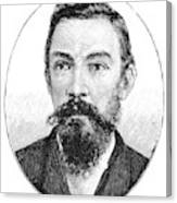 Schalk Willem Burger (1852-1918) Canvas Print