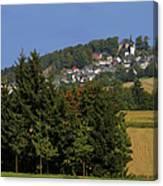 Schauenstein - A Typical Upper-franconian Town Canvas Print