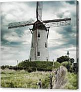 Schellemolen Windmill Canvas Print