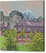10290 Schloss Clemenswerth 10 Canvas Print