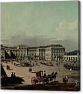 Schloss Schonbrunn, 1759-60 Oil On Canvas Canvas Print