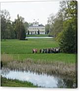 Schloss Woerlitz Canvas Print