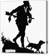Schmidt The Hunter Canvas Print