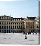 Schoenbrunn Palace In Vienna - Austria Canvas Print