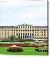 Schonbrunn Palace In Vienna Austria Canvas Print