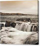 Schoodic Point Acadia National Park Canvas Print