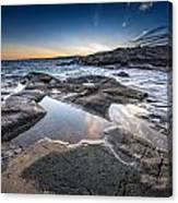 Schoodic Reflections Canvas Print