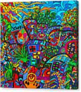 Schools In Canvas Print