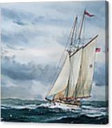 Schooner Adventuress Canvas Print