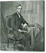 Schuyler Colfax  American Statesman Canvas Print