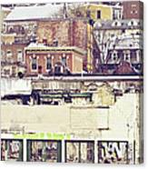 Schuylkill Scenery Canvas Print