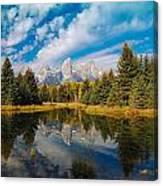 Schwabacher Autumn Canvas Print