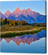Schwabacher Dawn Canvas Print