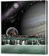 Sci-fi Canvas Print