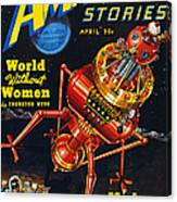 Science Fiction Cover, 1939 Canvas Print