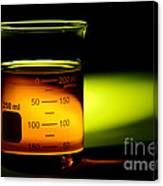 Scientific Beaker In Science Research Lab Canvas Print