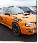 Scooby Subaru Canvas Print