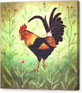 Scooter The Rooster Canvas Print