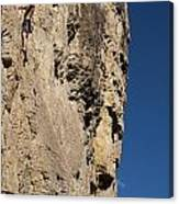 Scorched Earth Climbing 3 Canvas Print