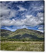 Scotland Loch Awe Mountain Landscape Canvas Print